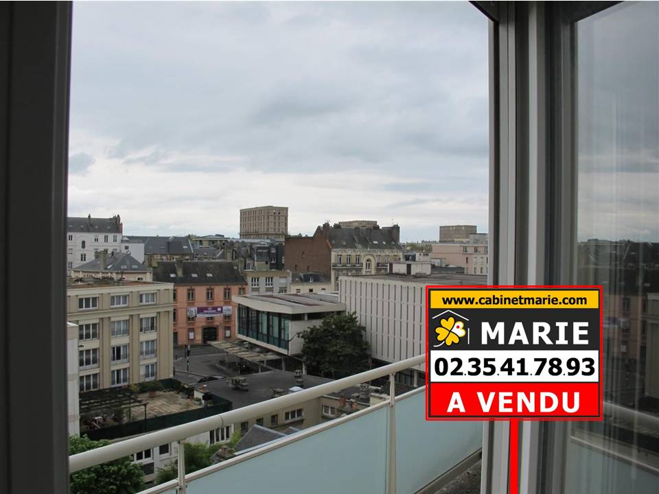 appartement avec balcon sud vendre t3 en plein centre ville le havre 76600 cabinet marie. Black Bedroom Furniture Sets. Home Design Ideas