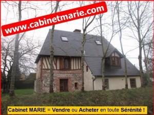 Maison normande maison normande de charme au coeur de la for Acheter maison campagne proche paris